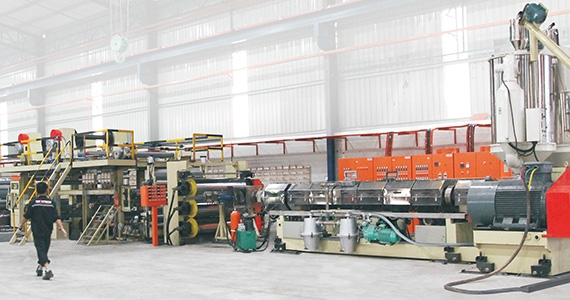 Double Extruder Aluminum Composite Panel Production Line(JET-FH-1300-N2/1600-N2/2000-N2)