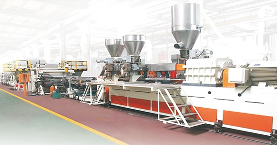 Two-roll Aluminum Composite Panel Production Line(JET-FH-1300-2N/1600-2N/2000-2N )