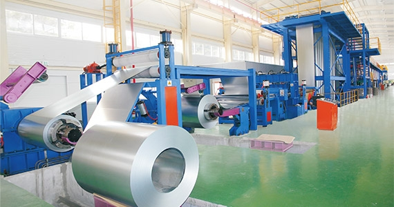Steel Coil Coating Line(JET-X-1250/30-120)