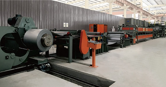 Steel Aluminum Heat Insulation Board Production Line(JET-SA-1250)